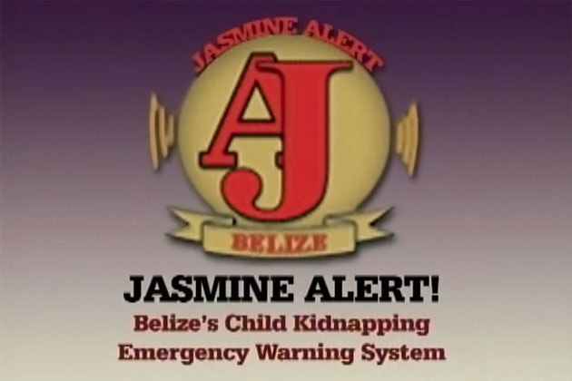 Jasmine Alert Child Kidnapping Emergency Warning System