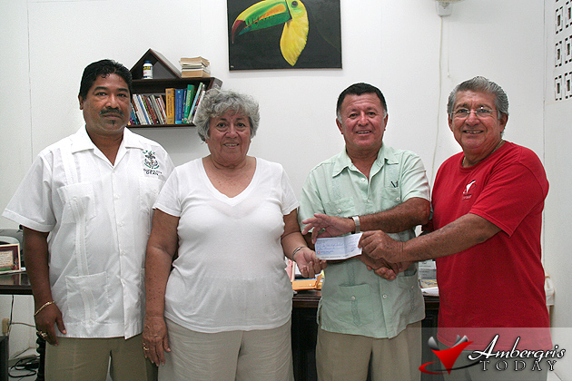 Hon. Manuel Heredia makes first donation to new SPJC School Building