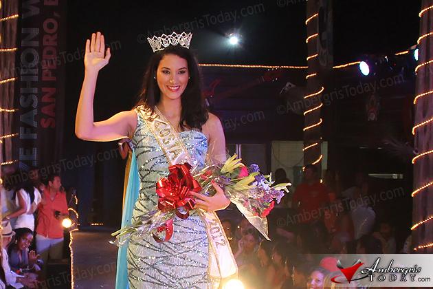 Karen Jordan crowed Miss Costa Maya 2012