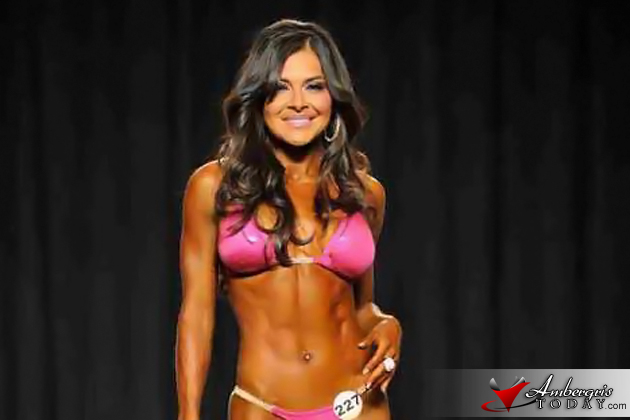 Katherine Portillo earns Bikini Pro status in Bodybuilding
