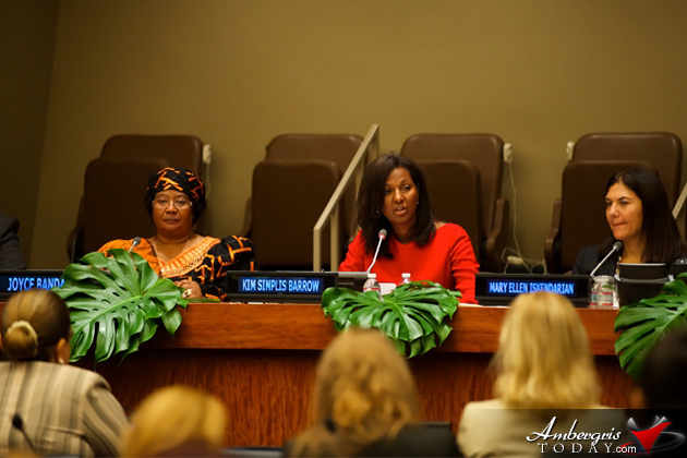 Belize's First Lady Hosts First Ladies Global Call to Action at United Nations