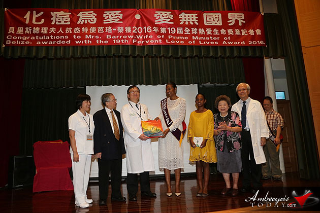 Mrs. Kim Simplis-Barrow Honored in Republic of China (Tawain)
