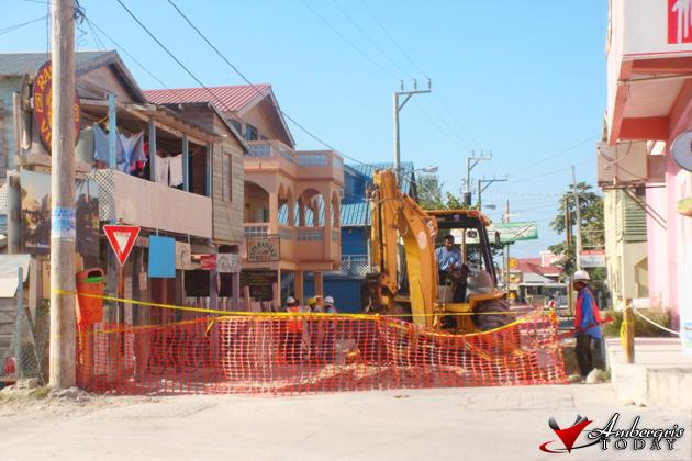 Work Starts on Paving Lagoon Street