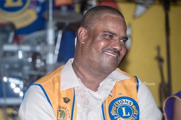 Nigel Belisle Leads San Pedro Lions Club