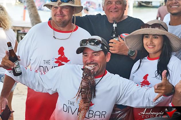 Lion Fish Tournament during Reef Week in San Pedro, Ambergris Caye, Belize