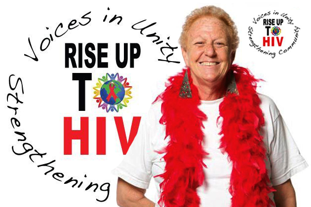 Rising Up to HIV – Maralyn Gill's Story