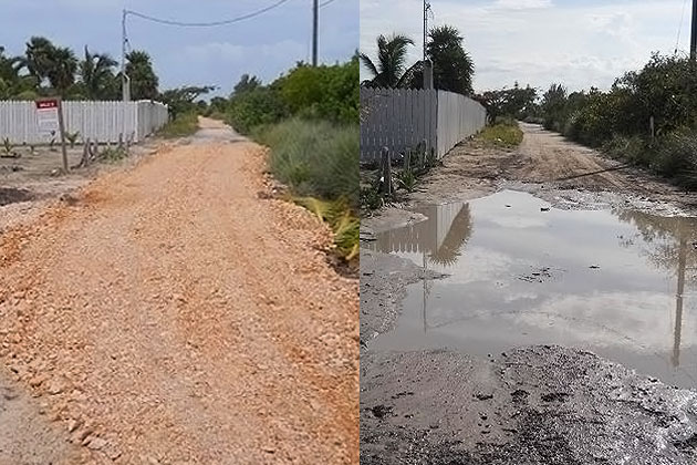 Repairs to Southern Road provide easier access to Maya Site in San Pedro