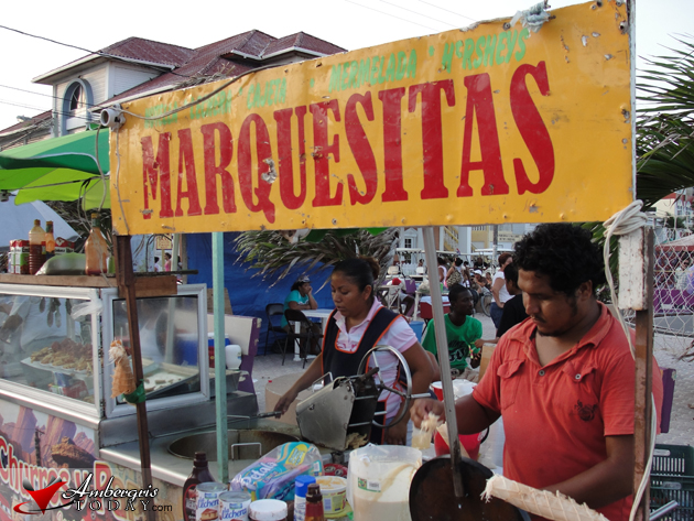 Marquesitas Stall at Central Park, Costa Maya Festival