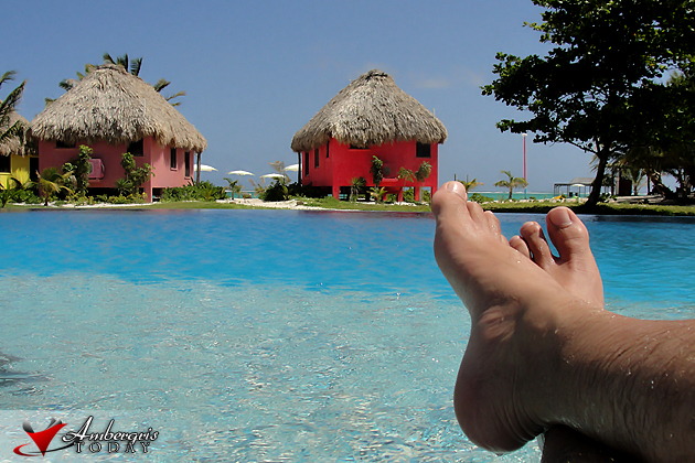 Poolside at Mata Chica Belize