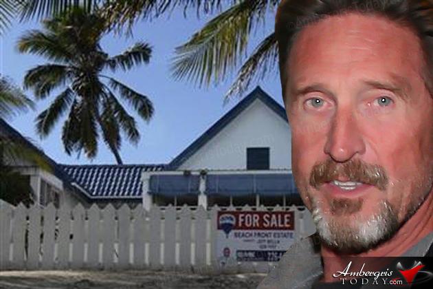 John McAfee Claims Gang Suppression Unit Raided His San Pedro Home