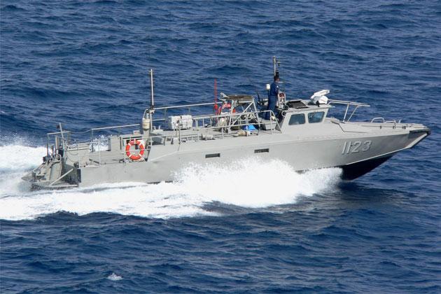 Grounding of Mexican Navy Vessel near Blackadore Caye