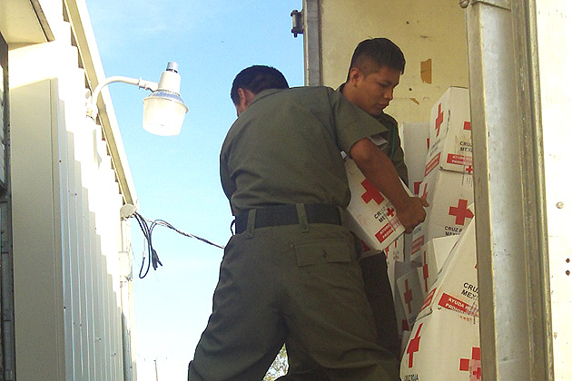 Embassy of Mexico Delivers Relief Supplies to Government of Belize