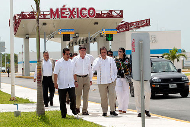 Belize and Mexico work together to combat Narco-trafficking