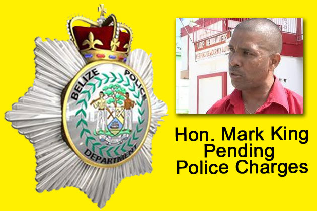 Hon. Mark King Pending Charges in Corozal Free Zone Incident