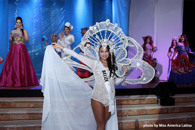 Belize Stands Tall Top 5 at Miss America Latina del Mundo Pageant