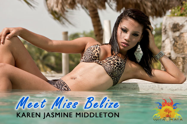 Miss Belize Costa Maya Karen Jasmine Middleton