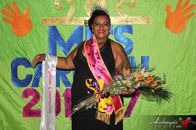 Melida Perreira Crowned Miss Carnaval 2016