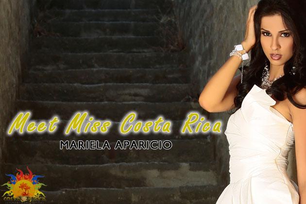 Miss Costa Rica, Costa Maya Mariela Aparicio