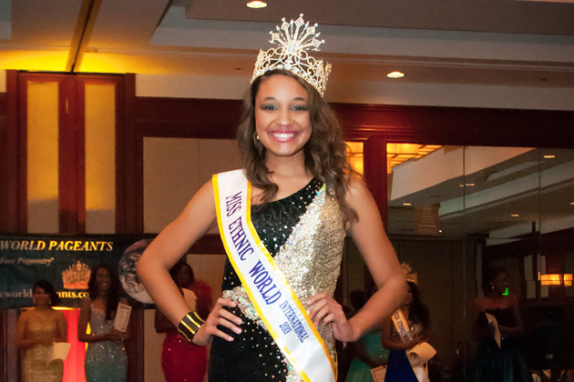 Miss Ethnic World 2012 - Destinee Arnold