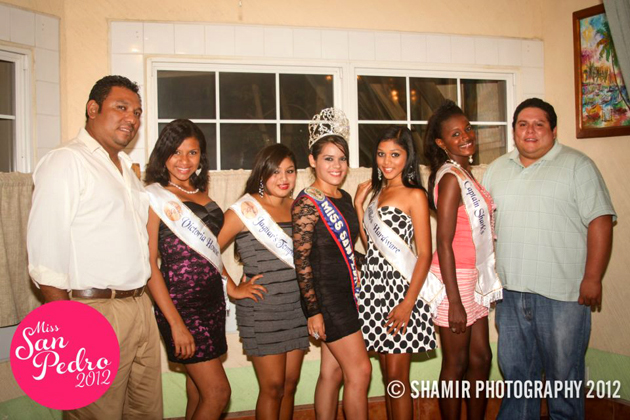 Miss SP Delegates at Official Sashing Ceremony