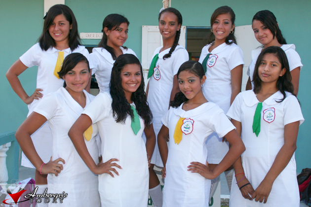 Miss San Pedro High 2011 Candidates