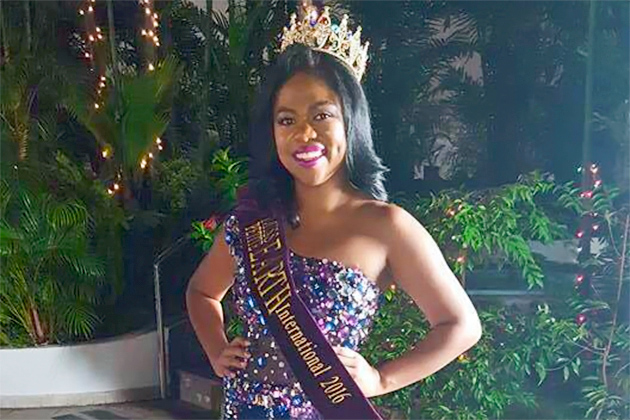 Vivian Noralez Brings Belize a Crown from Miss Teen Earth International