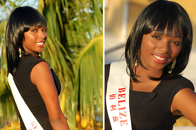 Miss World Belize 2010 Jessel Lauriano