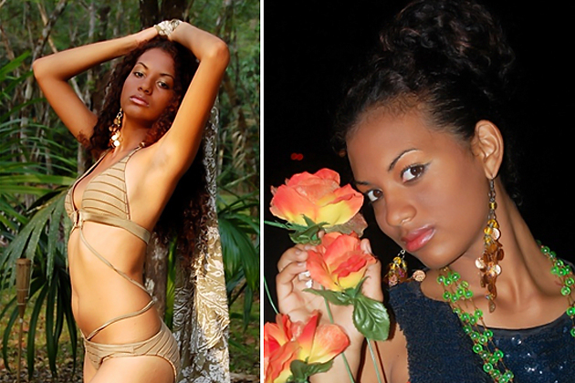 Miss World Belize contestant Miss Chantae Guy