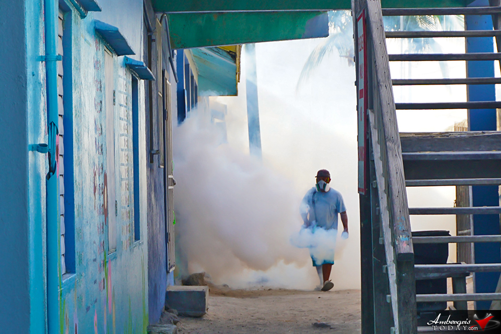 Belize's Island Schools Sprayed for Zika Prevention