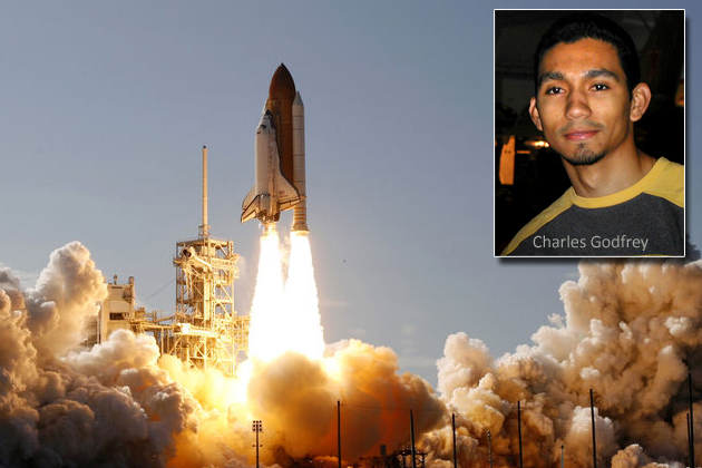 Charles Godfrey will Tweet his experience at Shuttle Atlantis' Final Launch