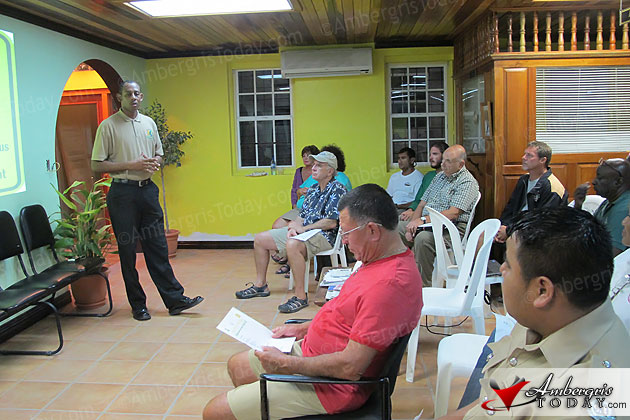 Community Policing Officers of Belize conduct nationwide Neighborhood Watch Tour