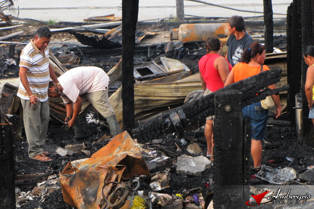 Community Works On Aid For Fire Victims