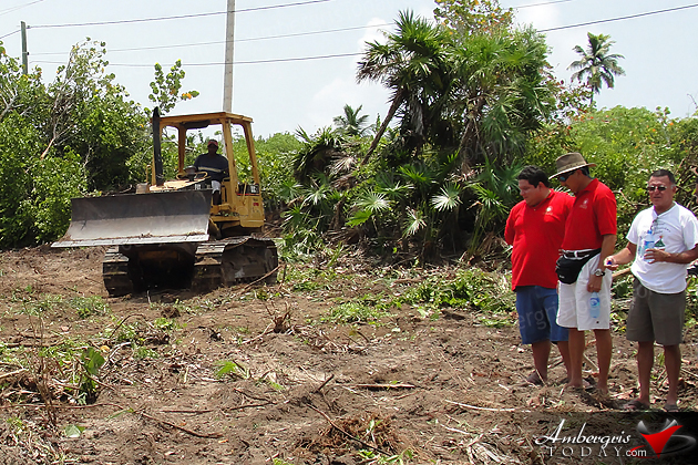 Work Starts on San Pedro's New Cemetery