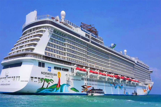 Norwegian Getaway Makes First Call to Belize