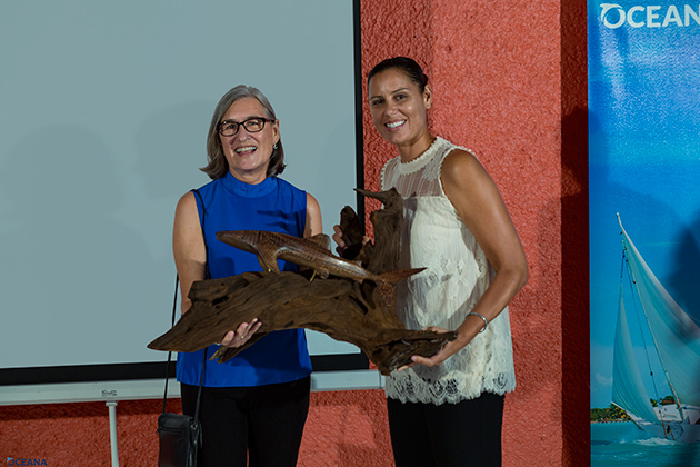 Oceana Announces Belize's 2016 Ocean Hero Award Winners Janet Gibson Wil Meheia