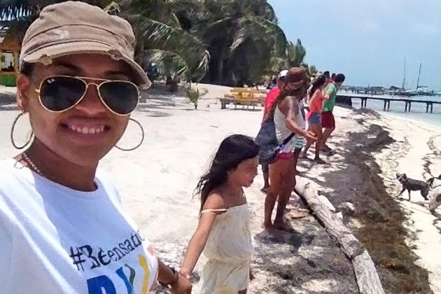 Belize Across the Nation Hold Hands - Hands Across the Sand - Oceana Belize