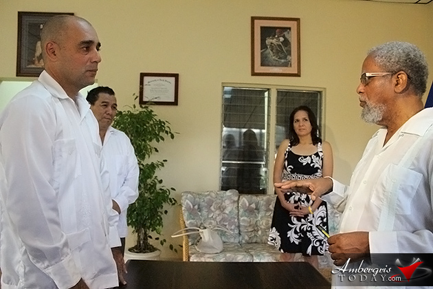 Hon. Omar Figueroa Sworn In As A Minister Of State