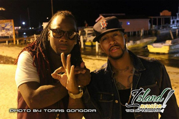 Lova Boy and Omarion in San Pedro for Island Invasion