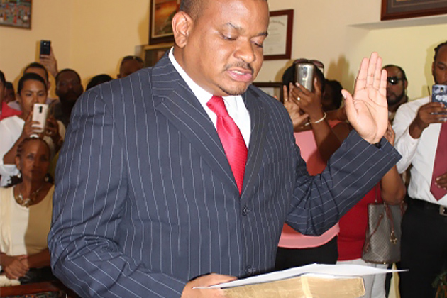 Hon. Patrick Faber Sworn in as Deputy Prime Minister