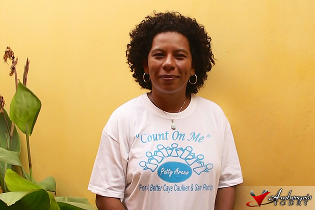 Patty Arceo, Elected Belize Rural South Standard Bearer for the PUP