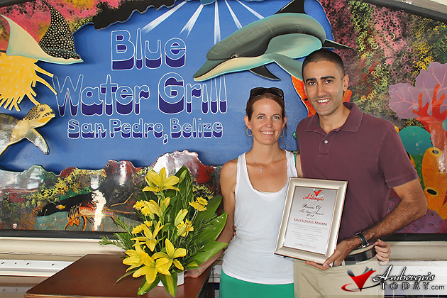 San Pedro's Persons of the Year 2012 Kelly & Mukul Kanabar, Blue Water Grill