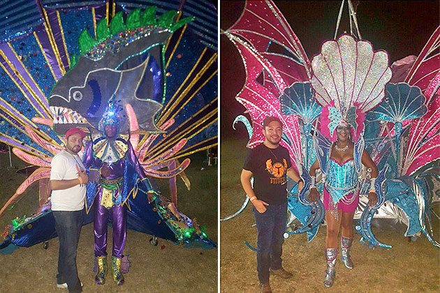 Titans Mas Band Take King & Queen of Carnival Titles