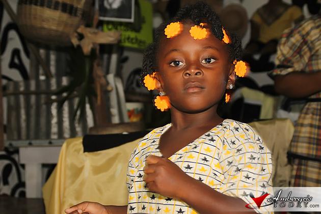 Young Garifuna Girl of Belize