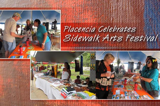 Placencia Sidewalk Arts Festival