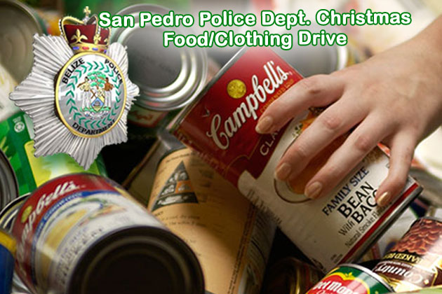 San Pedro Police Food & Clothing Drive