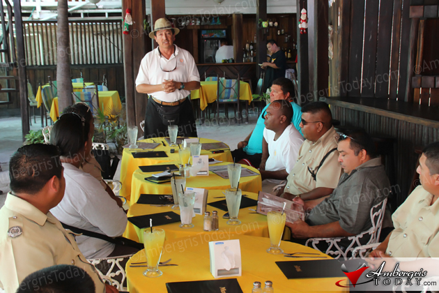 Mayor Guerrero Discusses Issues with San Pedro Police