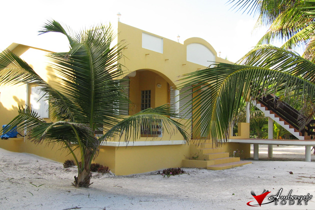 Residence at North Ambergris Caye that was burglarized.