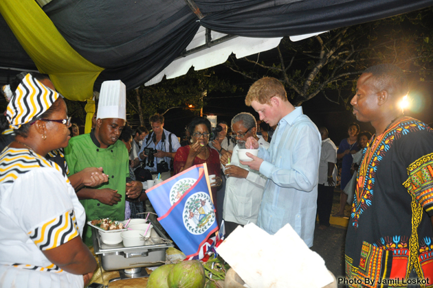 Not Only Prince Harry Can Eat Like Royalty in Belize