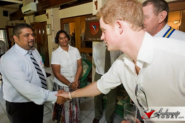 Jim & Jamila Janmohamed meet Prince Harry