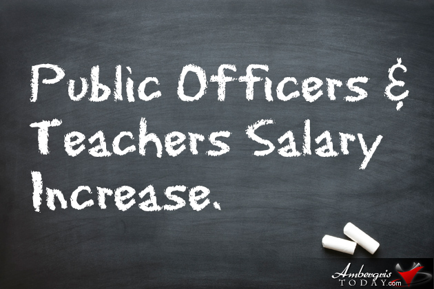 Government Gives Public Officers and Teachers an 8% Salary Increase